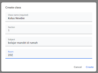3 Langkah Mudah Cara Buat Kelas dan Ujian Online Di Google Classroom