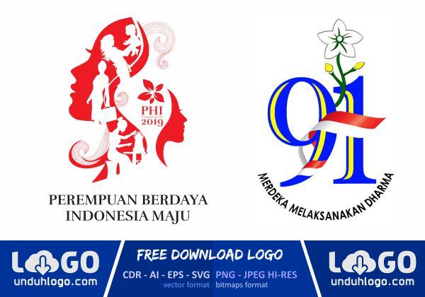 Logo Hari Ibu 91 Tahun 2019