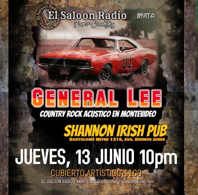 General Lee en el Shannon éste 13 de junio.