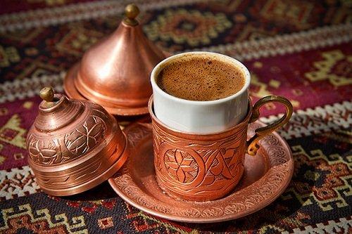How Turkish coffee works with an Arabic taste