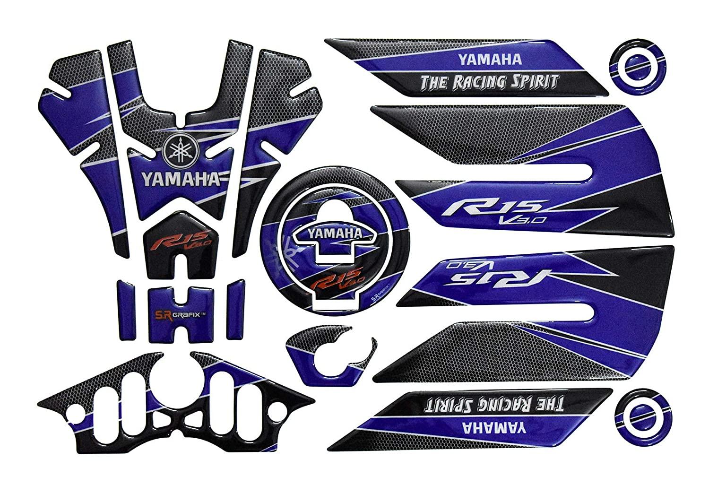 Yamaha R15 V3 Tank Pad