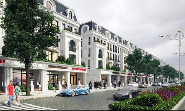 Nhà phố thương mại Shophouse Louis City Hoàng Mai
