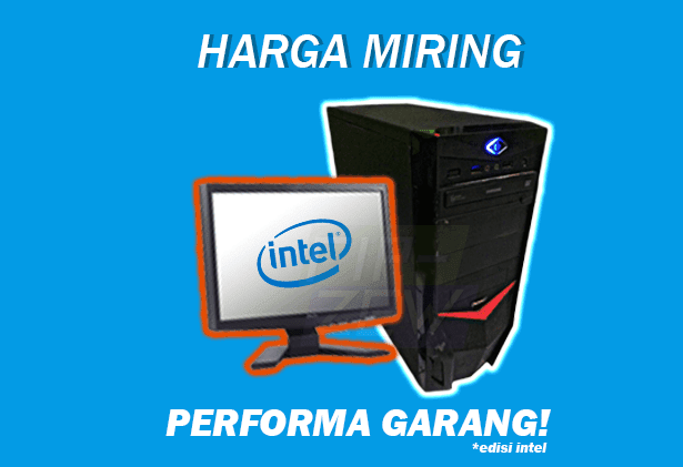 rakit pc 1 juta | rakit pc gaming 1 jutaan | intel