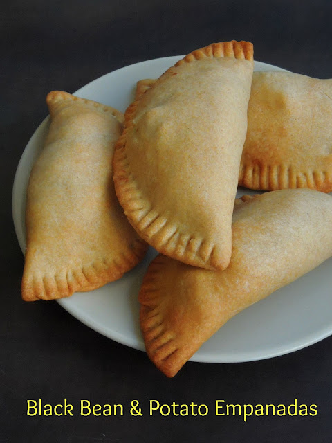 Vegan Black Bean & Potato Empanadas, Blackbean Empanadas