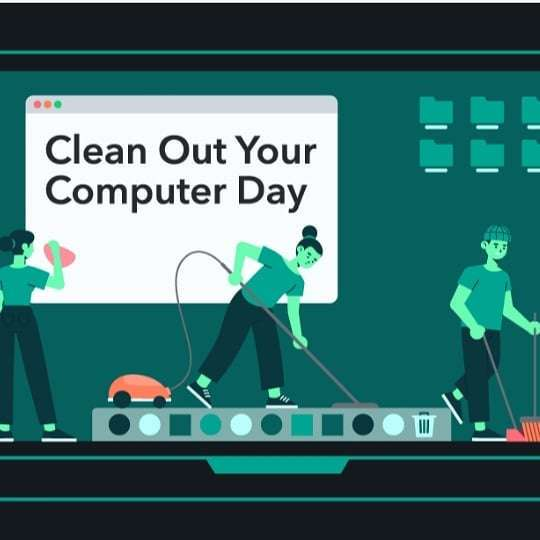 National Clean Out Your Computer Day Wishes pics free download