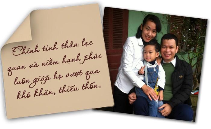 Chuyện tình cảm động của cặp vợ chồng khuyết tật người Hà Tĩnh - Nghệ An