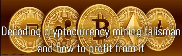 Decryption of currency mining