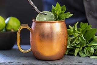 Copper moscow mule mug
