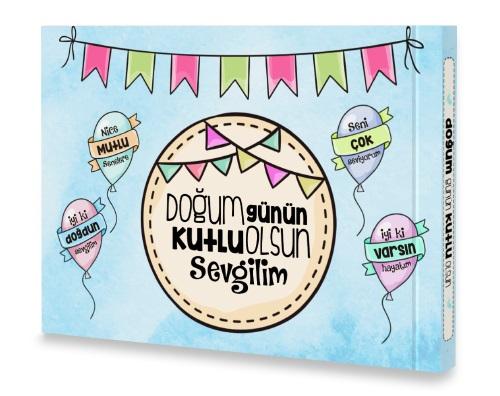 Doğum Günün Kutlu Olsun Sevgilim Kitabı