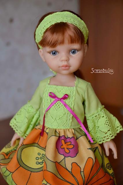 Игровые куклы для девочек, Паола Рейна, Paola Reina, Кристи