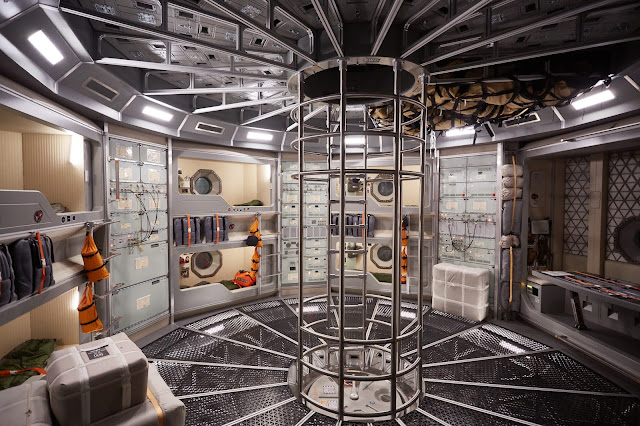 National Geographic 'Mars' - inside Daedalus spaceship