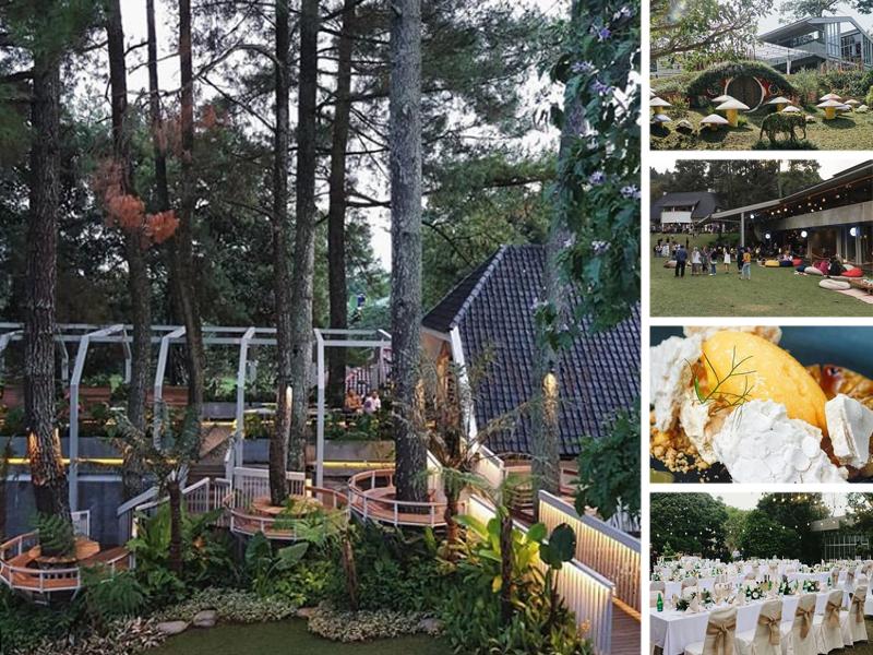 Nara Park Wisata Kuliner Instagramable Terbaru Di Bandung Utara