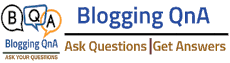Blogging QnA- Blogging Question Answers