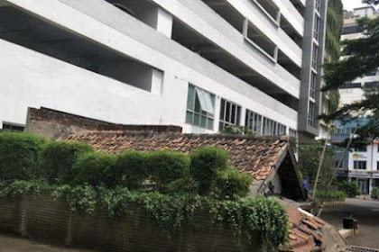 Begini Penampakan Rumah Reyot di Komplek Apartemen Mewah Jakarta
