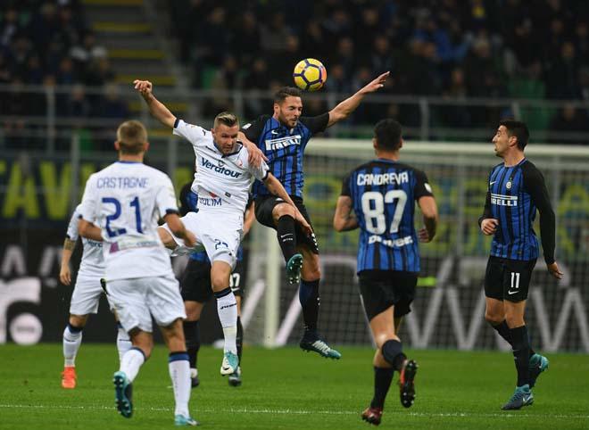 Video Atalanta - Inter Milan: Người cũ MU tỏa sáng, vinh danh á quân
