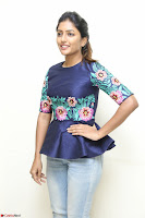 Eesha Looks super cute stunning in Denim Jeans and Top at Darsakudu movie Inerview ~  Exclusive 039.JPG