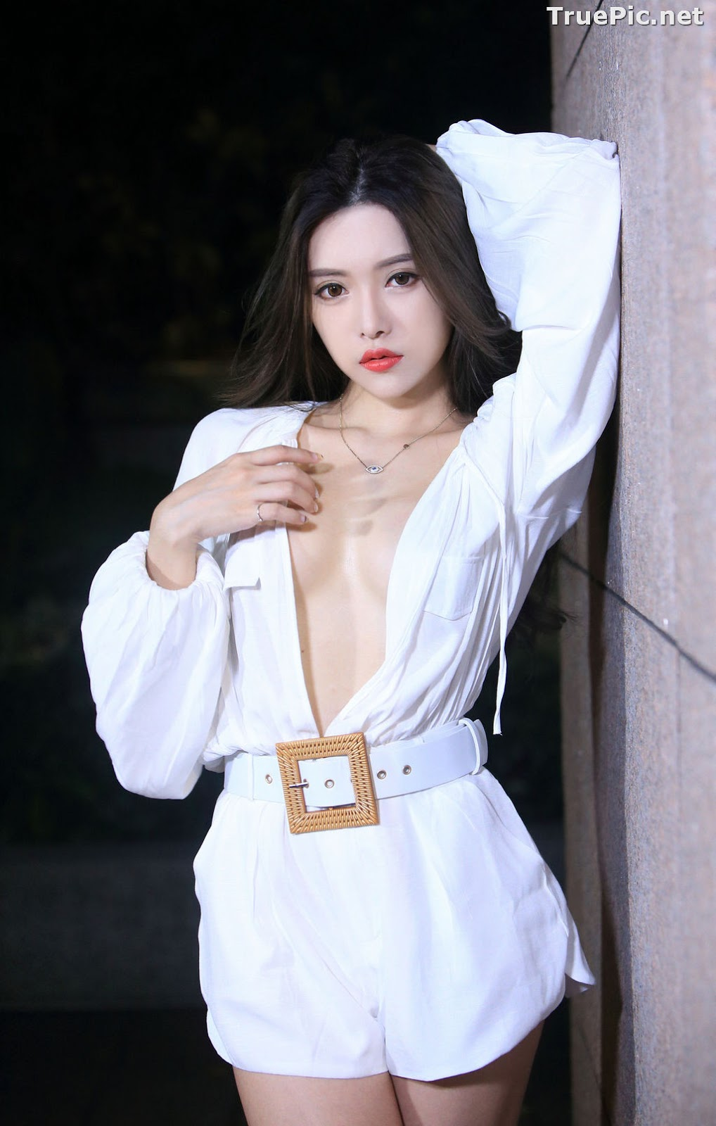Image Taiwanese Model – 莊舒潔 (ViVi) – Sexy and Pure Baby In Night - TruePic.net - Picture-65