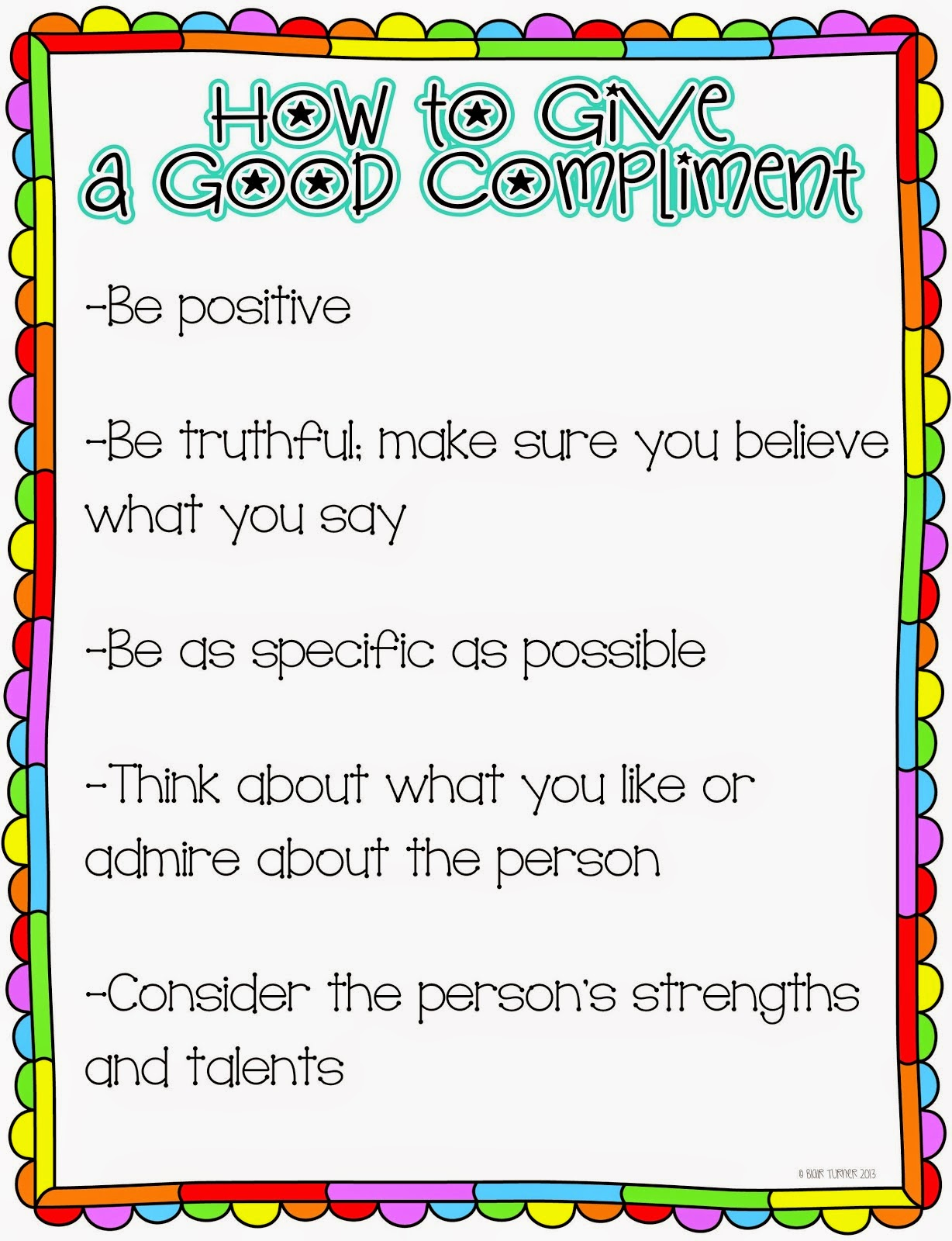 Self-Esteem Challenge Day 25: Giving Compliments and Meeting Yourself