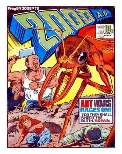 2000AD Prog 84, Ant Wars