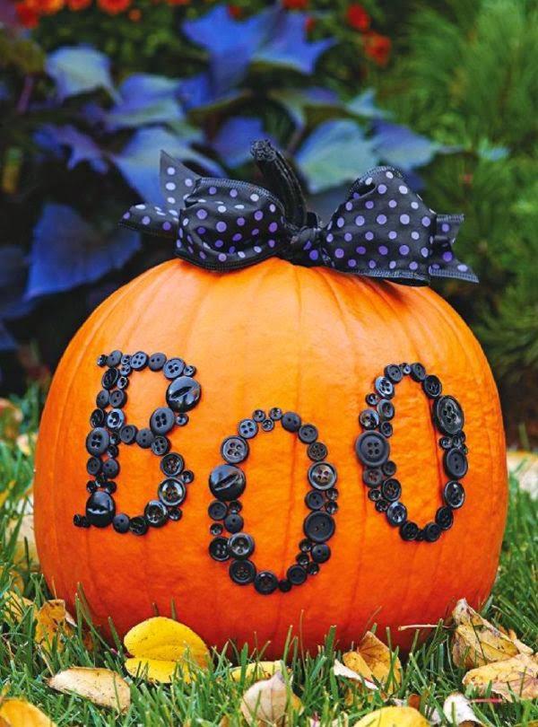 Ideas Para Decorar Calabazas En Halloween La Maleta De Una Au - Como-decorar-una-calabaza-para-halloween