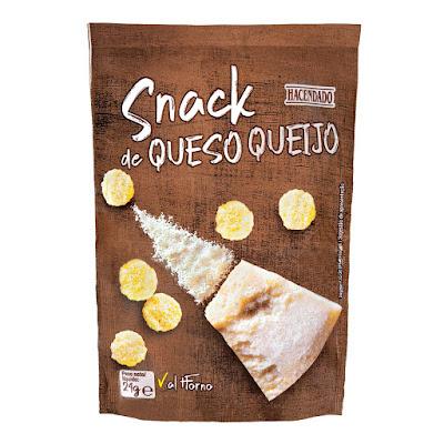Snack de queso al horno Hacendado