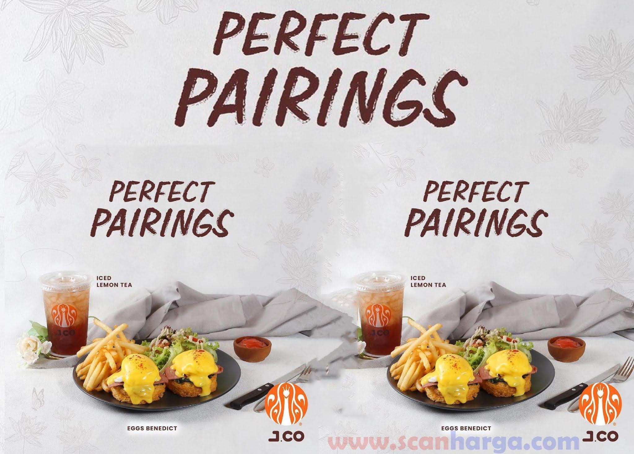 Promo JCO Perfect Pairing - Gratis Iced Lemon tea  Iced Americano