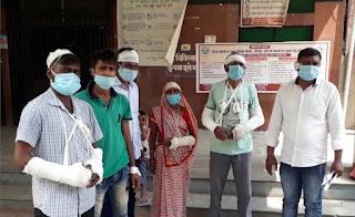 न्याय की आस में 15 दिन से भटक रहा मारपीट में घायल परिवार | #NayaSaberaNetwork
