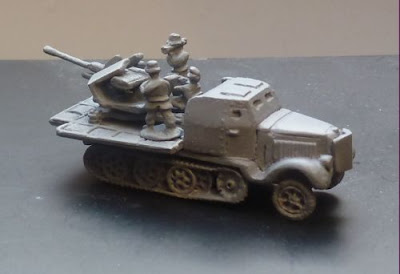 Gv 175 Flak 37 Armoured Halftrack
