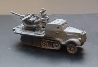 Gv 175 Flak 37 Armoured Halftrack