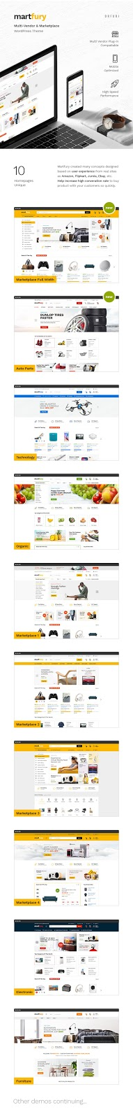 WooCommerce Marketplace WordPress Theme Review - Martfury