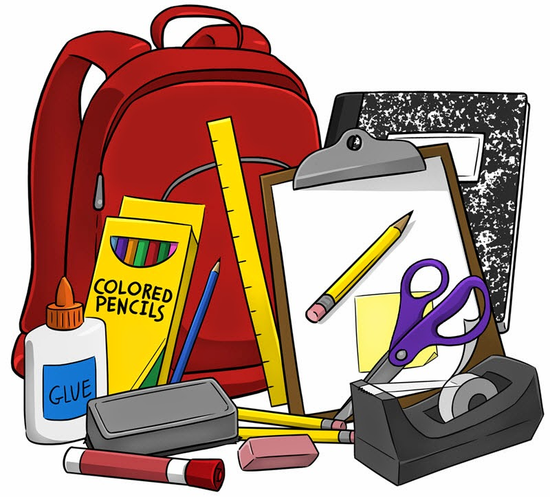 clipart school supplies - photo #2