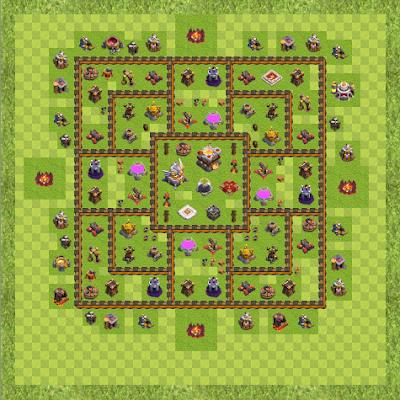 War Base Town Hall Level 11 By IbrAhim AMjad (Legendary TH 11 Layout)