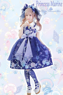 mintyfrills kawaii harajuku fashion lolita cute pretty mermaid