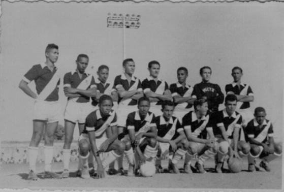 Júlio César, Pelé, Felizardo, Irair, Dunga, Acácio, Vico, Poxoréo, Marcelo, Ruiter e Odenir