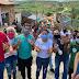 Cordélia faz caminhada em Mundo Novo e visita assentamento Irmã Doroty para conversar com moradores
