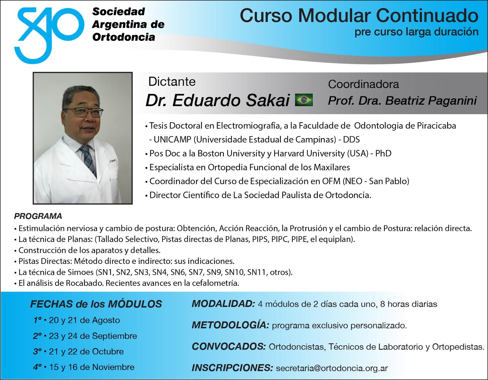 Curso Dr. Sakai