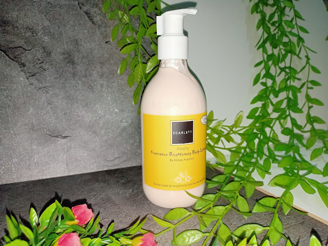 Scarlett Fragrance Body Lotion Freshly