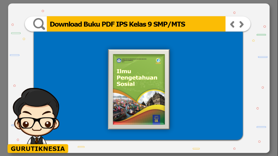 download  buku pdf ips kelas 9 smp/mts
