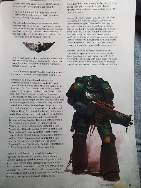 Dark Angels WD leaks