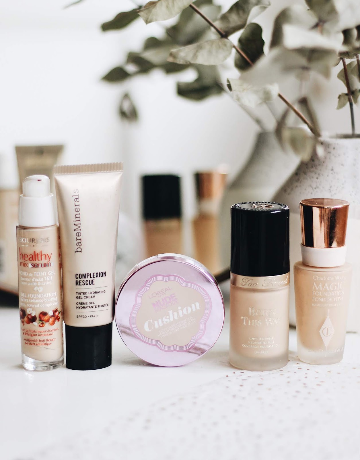 Five Most Repurchased Foundations