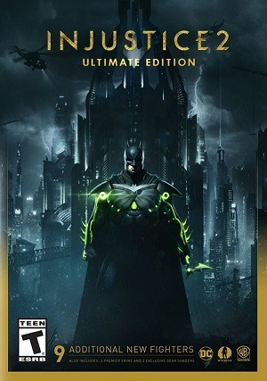 Injustice 2 - Ultimate Edition Jogos Torrent Download capa