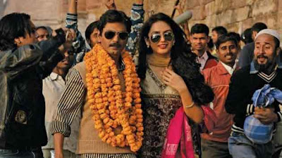 Nawazuddin Siddiqui as Faisal Khan, Huma Qureshi as Mohsina, Gangs of Wasseypur II, Marriage Scene, Directed by Anurag Kashyap