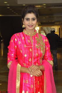 Shamili in Pink Anarkali Dress 03.JPG