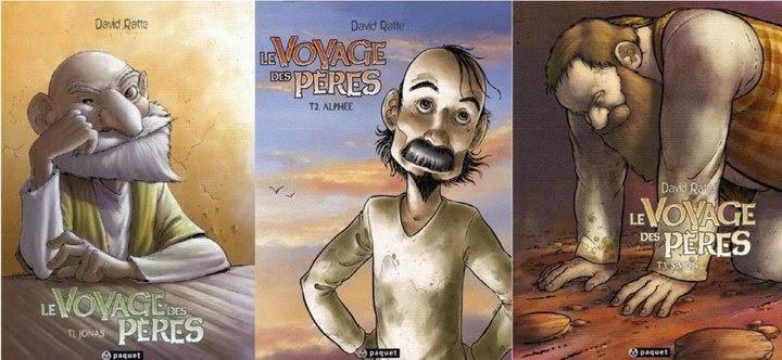 BD : la trilogie des Pères