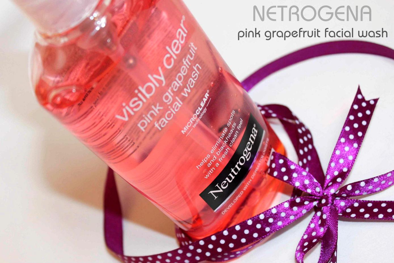 Отзыв: Очищающая эмульсия с экстрактом розового граната и салициловой кислотой - Neutrogena Visibly Clear® Pink Grapefruit Facial Wash.
