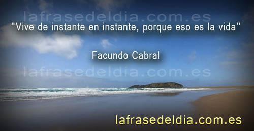 Frases motivadoras de Facundo Cabral