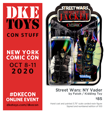 New York Comic Con 2020 Exclusive Street Wars Resin Figures by Fatoh x DKE Toys