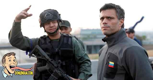 Leopoldo López contó por primera vez lo ocurrido el 30 de abril