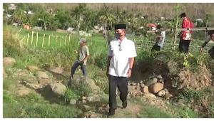 Wali Kota Bima Tinjau Lokasi Luapan Air di Nungga