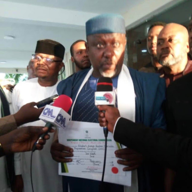 BREAKING: INEC issues Certificate Of Return to Okorocha
